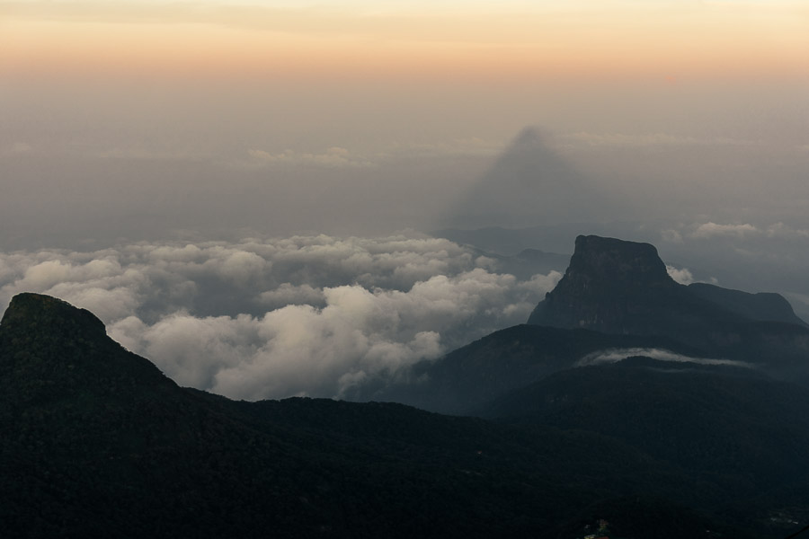Adam's Peak Shadow