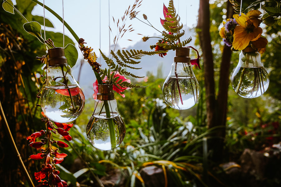 DIY Bulb Vases