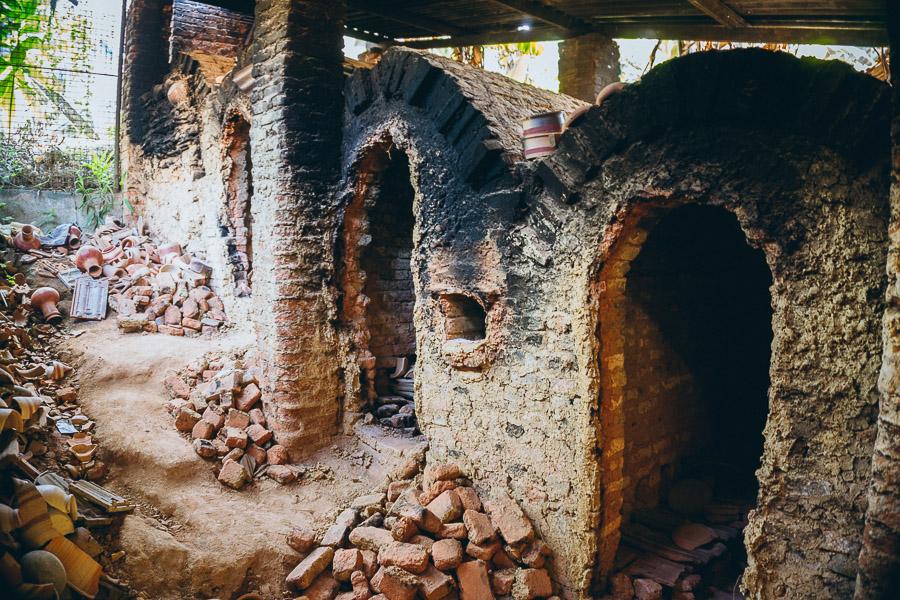 Noborigama style wood kiln